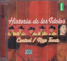 Control y Rigo Tovar Historia De Los Idolos CD+DVD New