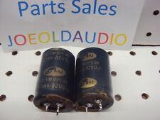 Harman Kardon AVR 20 ii  Filter Capcitors 63WV 8200UF  Parting Out AVR20ii