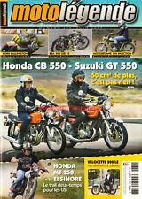 MOTO LEGENDE 268 HONDA CB 550 F1 MT 250 Elsinore SUZUKI GT VELOCETTE LE 200 BSA