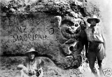 New Zealand Army Maori Pah Gallipoli World War 1 6x4 Inch Reprint Photo 1