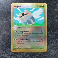 Ninjask 38/97 Reverse Holo EX Dragon Pokemon Card Near Mint Minus Condition