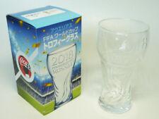 COCA COLA AQUARIUS 2018 FIFA WORLD CUP RUSSIA LIMITED EDITION GLASS CUP * NEW