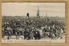 Cpa Nantes - vue panoramique sur les quartiers Saint Nicolas Sainte Croix rp0247