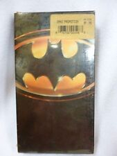 BATMAN VHS (1989) MICHAEL KEATON ,JACK NICHOLSON NEW & SEALED SONGS BY PRINCE