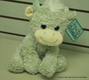 "Kellytoy 10"" Stuffed Animal. Really nice! Greenish Bull"