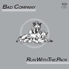 BAD COMPANY RUN WITH THE PACK 180 GRAM 2-LP VINYL (Remastered & Expanded 2017)