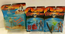 Lot of 3 Kenner Waterworld Action Figures New in Package 1995 Kevin Costner T2