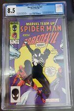 Marvel Team-Up #141 CGC 8.5 1st Black Spider-Man Suit! Recently Graded.