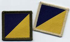 Royal Logistics Corps RLC Tactical Recognition Flash TRF 4cm x 4cm
