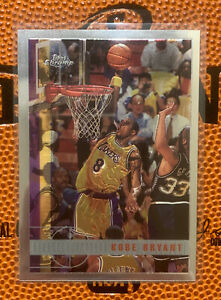 1997-98 Topps Chrome Kobe Bryant #171 2nd Year Card Great Condition Grade Ready