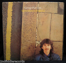 GEORGE HARRISON-THE BEATLES-Fully Sealed SOMEWHERE IN ENGLAND Album-Canadian