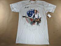 BEATLES - PAUL McCARTNEY Summer Live 2009 Concert Tour T Shirt - Small NEW