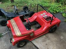 Rupp Jeep AMC  promotional go kart and F.W. and Associates kart frame  Rupp