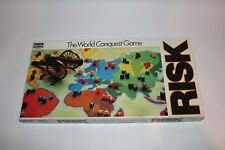 RISK - The World Conquest Family Board Game by Parker Brothers Vintage 1985