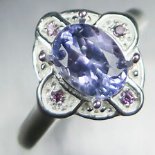 Natural Tanzanite Solitaire Engagement Fine Rings