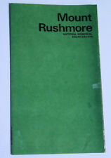 Vintage 1974 Mount Rushmore National Memorial Brochure - GPO 1974-543-527/48