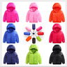 Boys Girls Down Jacket Coat Puffer Hooded Kids Outwear Baby Warm Snowsuit Padded