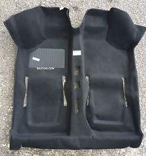 FIAT 500 D F L R TAPPETO PREFORMATO NEROFILO LUNGO Interior Moulded Carpet BLACK