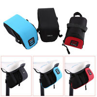 Bicycle Bike Waterproof Storage Saddle Bag Seat Outdoor Cycling Tail Rear Pouch^