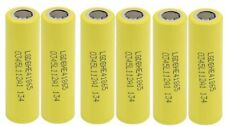 100 pcs Genuine LG HE4 18650 2500mAh 20A HIGH DRAIN USA seller