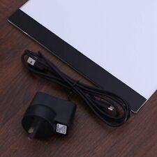 A4 LED Light Box Stencil Art Board Tracing Drawing Design Tattoo Pad AU Plug
