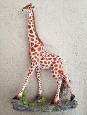 18 1/2 inch Ceramic Giraffe Figurine in Great Condition
