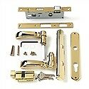 Andersen Storm Door Handle in Brass Finish - Traditional (2004 to Present)