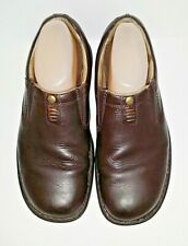 Merrell World Legend Stollen Loafers 8.5 W Brown Leather Ortholite Shoes