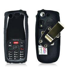 RugGear Supreme RG 310 Flip Phone Case Turtleback Black Nylon Metal Clip