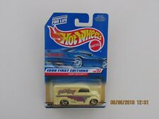 Hot Wheels 1998 FIRST EDITIONS GOT MILK DAIRY DELIVERY WHITE GRAY BASE CARS B-Z