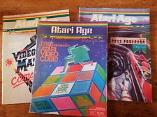 Atari Age Magazine Vol. 2 #1-3  Gaming VCS  2600 Arcade Video Game Atari Club