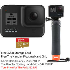 GoPro HERO8 Hero 8 Black Action Camera Free 32G Card Free Hand Grip