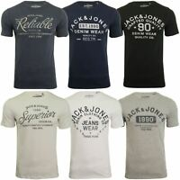 Jack & Jones Mens Short Sleeved T-Shirt 'JJEJEANS'