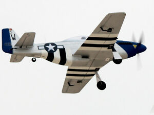 Dynam 762mm Mini P51D Warbird Propeller Motor Battery RC Foam Airplane RTF Model
