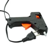 20W Hot Melt Glue Gun Electric Heating Stick Trigger Art Craft Repair Tool Black