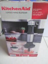 KITCHENAID KHB2351CU 3 SPEED IMMERSION HAND BLENDER CHOPPER MIXER BLEND