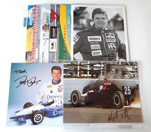 Lot of (15) Indycar F1 Signed Photos Auto Autograph Papis Lux Goshen Theys