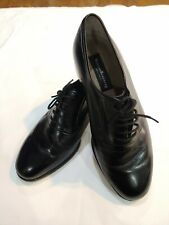 Kumkang Woman's Black Leather Lace Up Shoes 8.5 Ee extra wide Kr 11 Mhx 0058