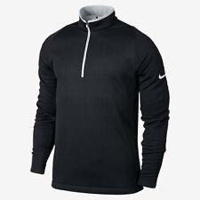 Men's Nike Hypervis Half-Zip 2.0 Men's Golf Therma Jacket Black 704566 010 Sz S