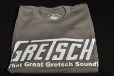 "GRETSCH ""THAT GREAT GRETSCH SOUND"" TEE SHIRT SMALL SLATE"