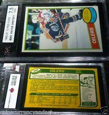 1980 / 81 OPC - card # 250 Wayne  Gretzky -   KSA Graded
