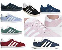 Adidas Originals Gazelle Women`s Ladies Girls Trainers Sport Shoes UK Quality