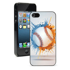 For Apple iPhone X XS Max XR 5 6 6s 7 8 Plus Hard Case Cover 1026 Baseball Splat
