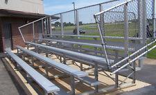 5 Row Aluminum Bleacher Bleachers Baseball - Football