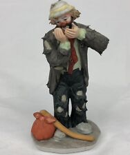 Flambro Miniature Emmett Kelly Jr *Toothache* Signature Collection