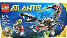 NEW sealed Lego 8076 ATLANTIS Set DEEP SEA STRIKER Diver 260 pieces