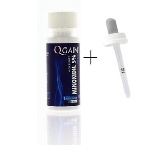 Qgain High Purity Minoxidil 5% for MEN 1 month supply