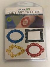 GAMA GO Body Art Temporary Tattoos