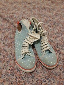 Mini Boden Baseball/High Top Boots Size  38 UK 5