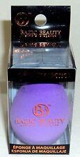 BAZIC BEAUTY Simple Elegance Pro beauty Sponge New In Box PURPLE